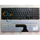 Dell Inspiron 3521 Keyboard