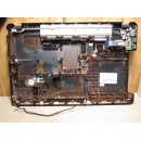 HP 2000 SERIES BOTTOM CASE BASE WITH COVERS 646114 001